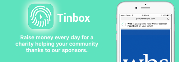 Tinbox – A Donation a Day !