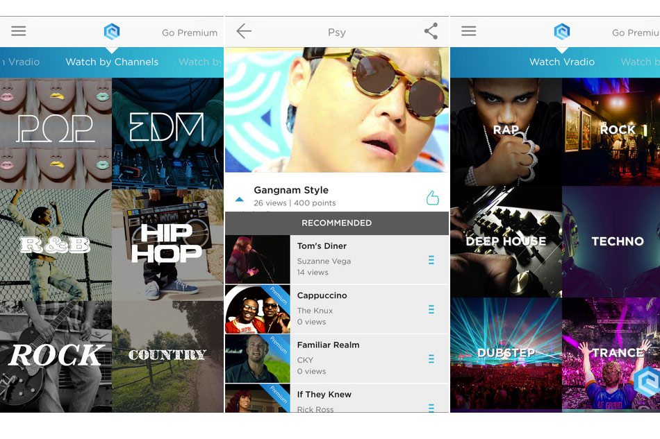 Edge Music Appslisto