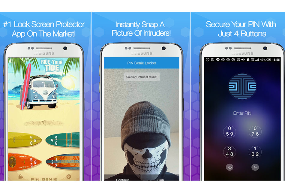 The Best Security App for Your Beloved Smart Phone – PIN Genie Locker!