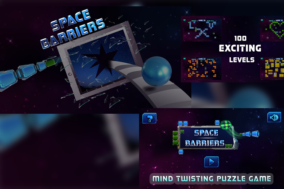 Space Barriers- Unique Traditional Puzzle Game