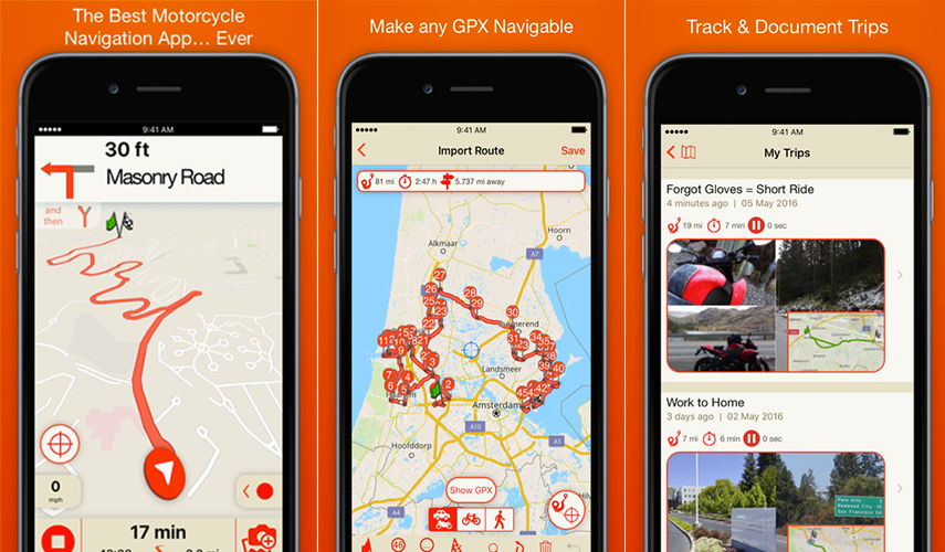 Scenic App: Incredible Tracking and Navigation Tool for an Epic Ride