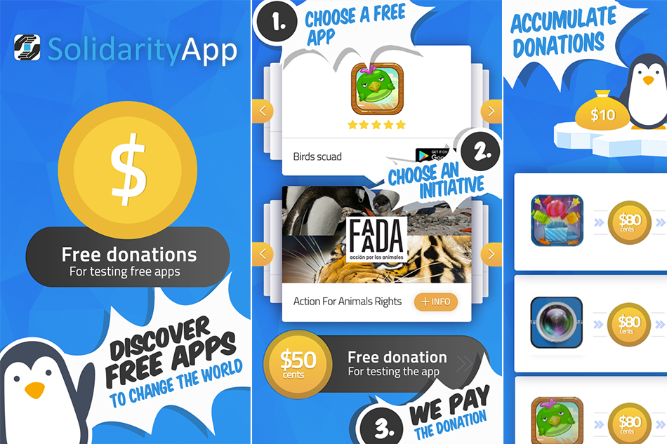 Make a change with Solidarity App