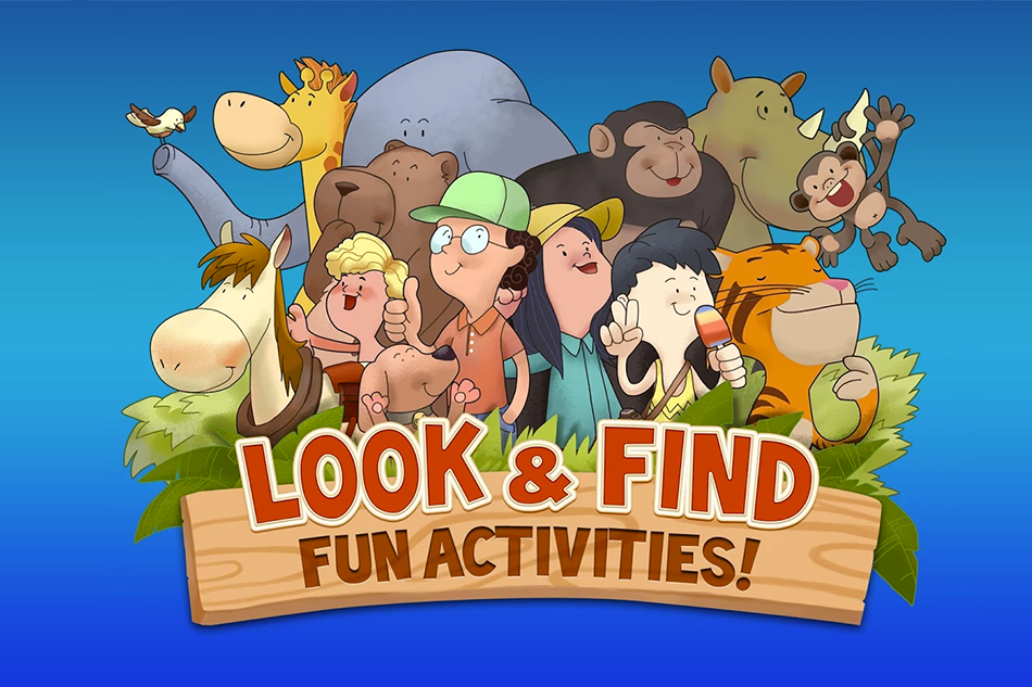 Look and Find App Game : A Fantastic Adventure