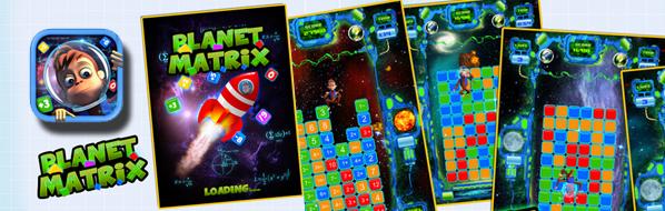 Planet Matrix : Fun, Entertaining iphone Game