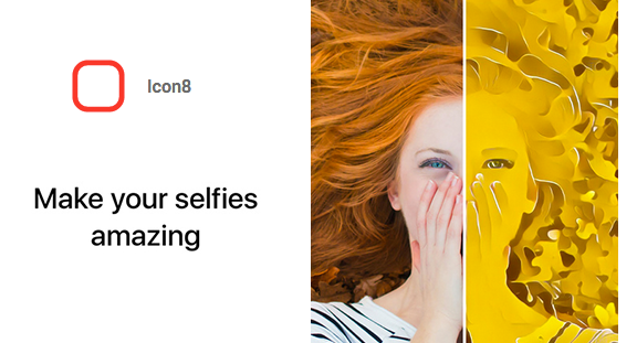 Icon8, the New Age Bot to Spice up your Selfies