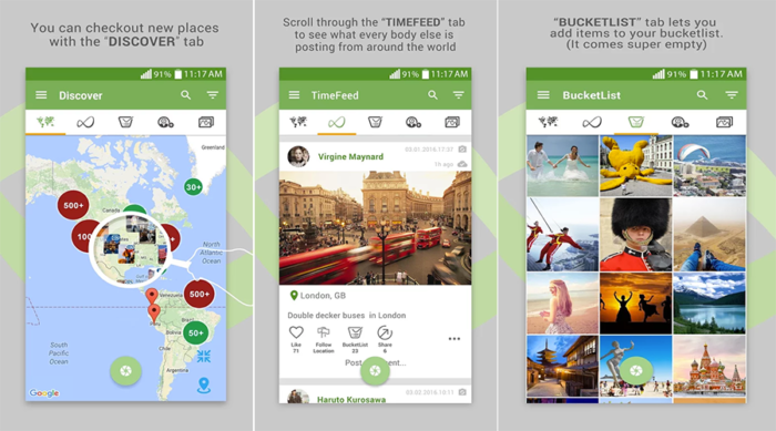 TimeSet-Explore, Capture and Share Geo-Location Photos With the Interactive