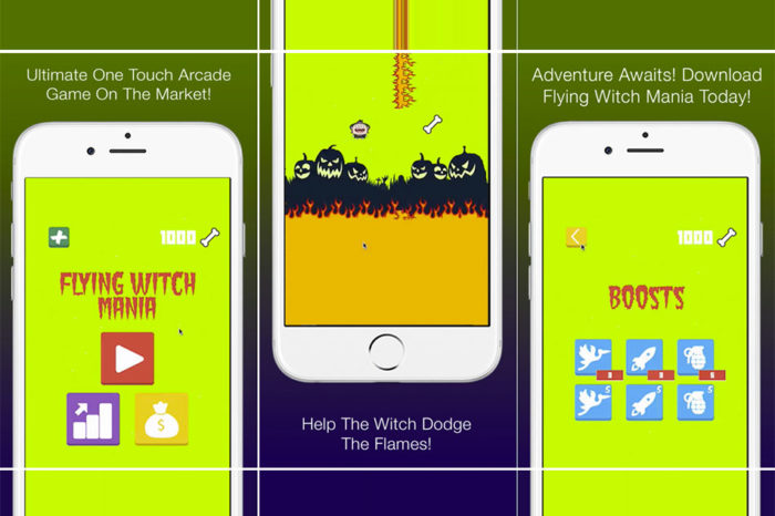 Flying Witch Mania iOS Game Review