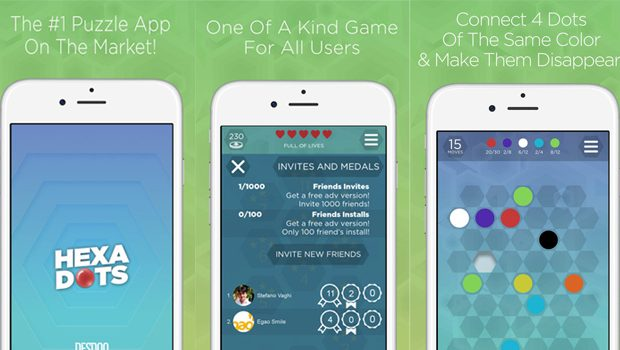Hexa Dots – Truly Mind Trapping App