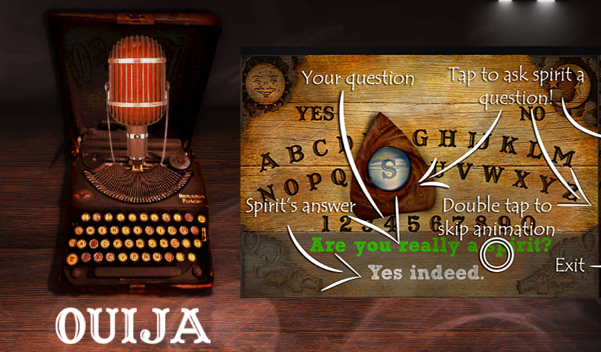 "REAL OUIJA BOARD GAME- "" MEET THE SPIRITS"" 