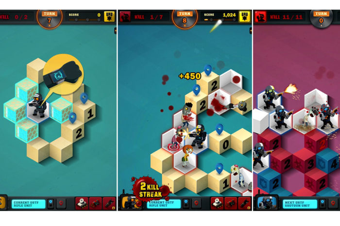 Zombie Sweeper: a new, mind-blowing zombie killer app