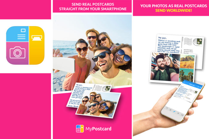MY POSTCARD- A NEW WAY TO GET IN TOUCH!