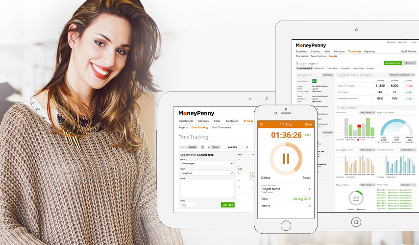 MONEYPENNY- BUSINESS AT YOUR FINGERTIPS!