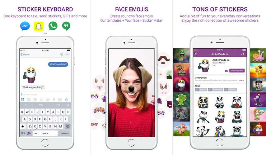 Sticker Market:Emoji Keyboard – IOS App Review