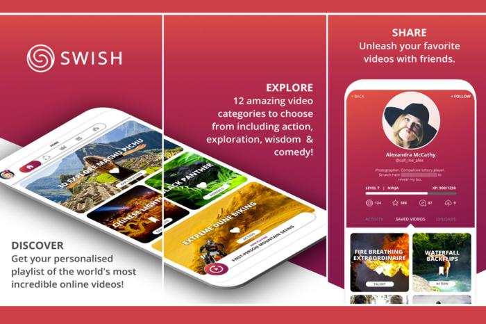 SWISH Video iOS App Review