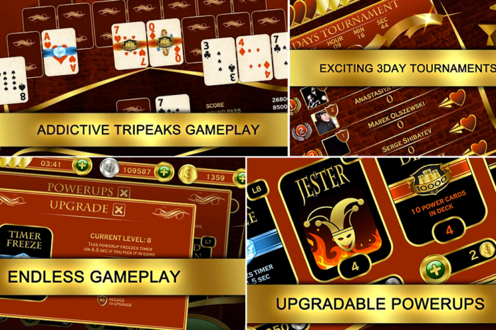 Is Your Facebook Account Safe When Playing Towers TriPeaks Solitaire Android App?