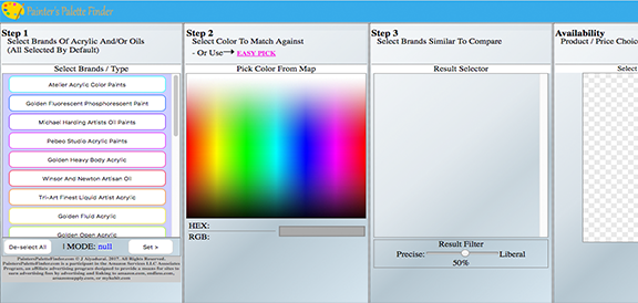 PAINTERS PALETTE FINDER APP REVIEW- GET THE BEST PAINTS FOR YOUR ART WORK!