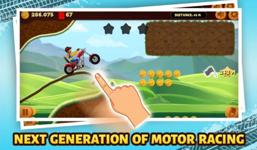 Road Draw: Hill Climb Rider – Smooth Ride