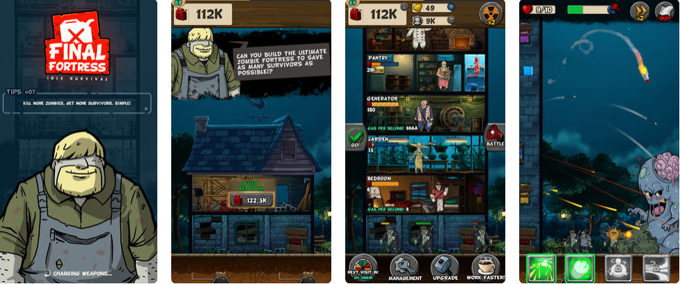 Click Your Way to Fun Times with the Final Fortress – Idle Survival App By: Erin Konrad