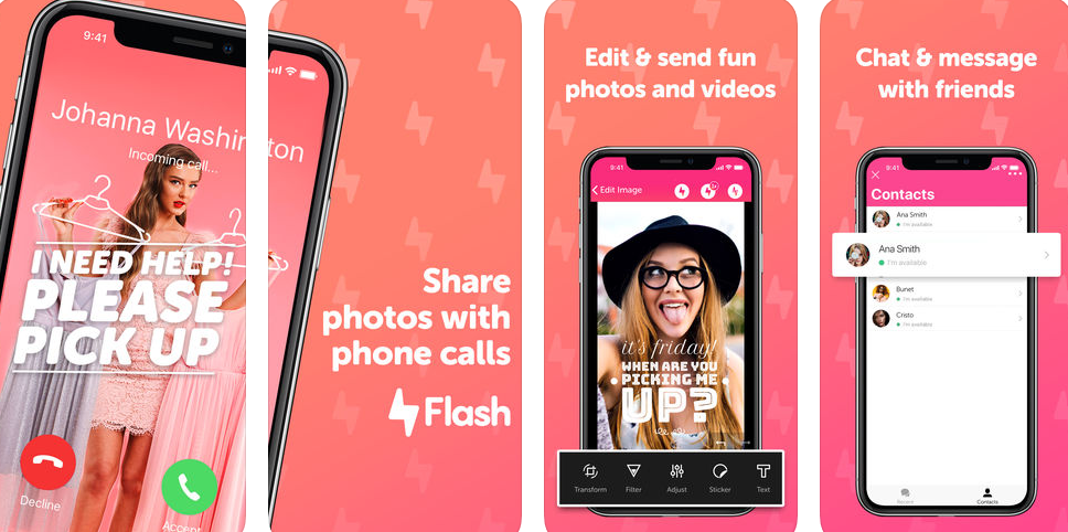 Spice up your phone calls with Flash!