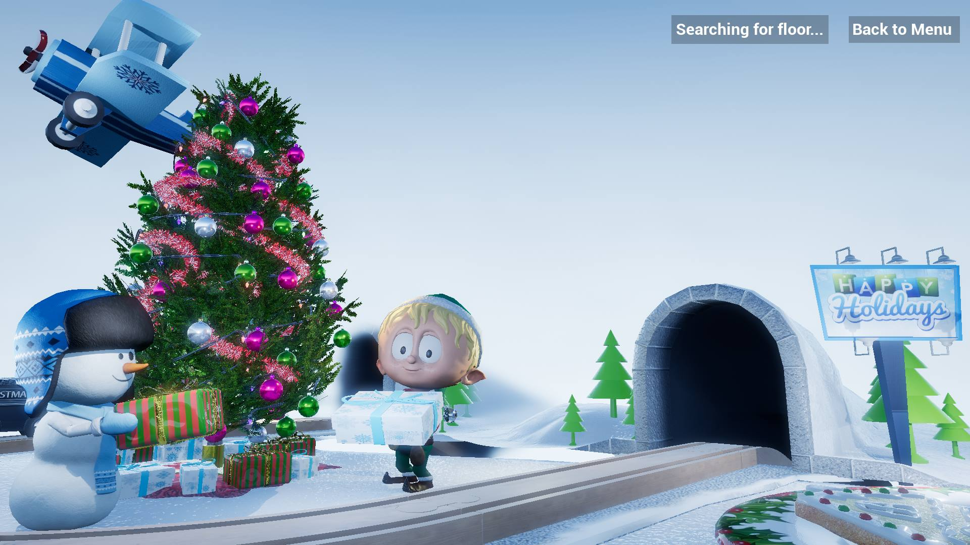 Get the Christmas cheers with Ollie the AR Elf