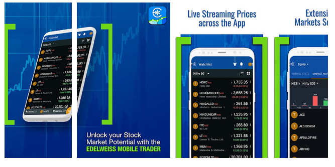 "COMPLETE REVIEW OF ""SHARE MARKET LIVE TRADING APP, BSE, NSE-EDELWEISS"""