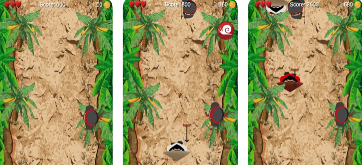Nab It – Be The Ninja And Grab Gold Coins From The Travelers