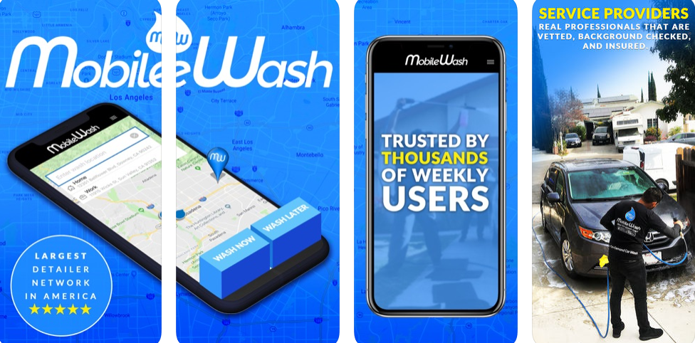 Mobile Wash – Car Wash At Your Doorstep