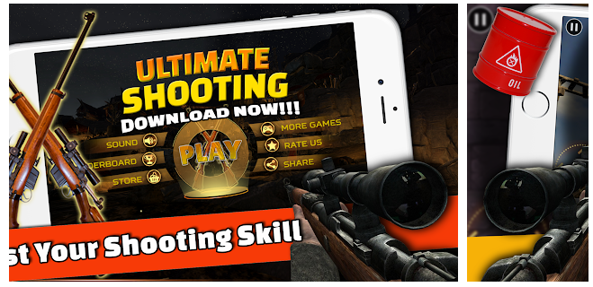 Enjoy your shooting with Ultimate Sniper