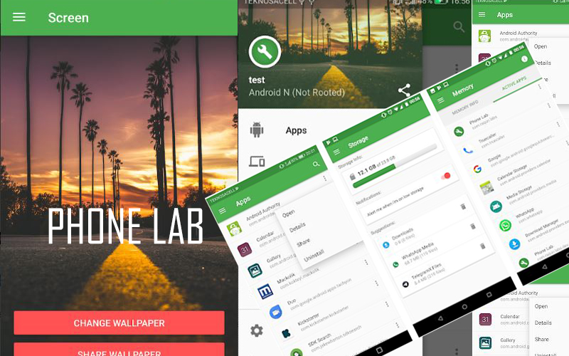Phone Lab – Device Utility Application