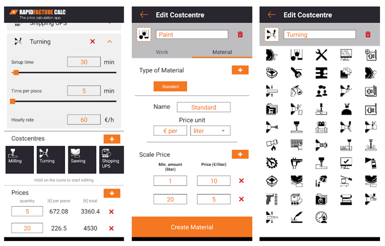 RF Calculation App