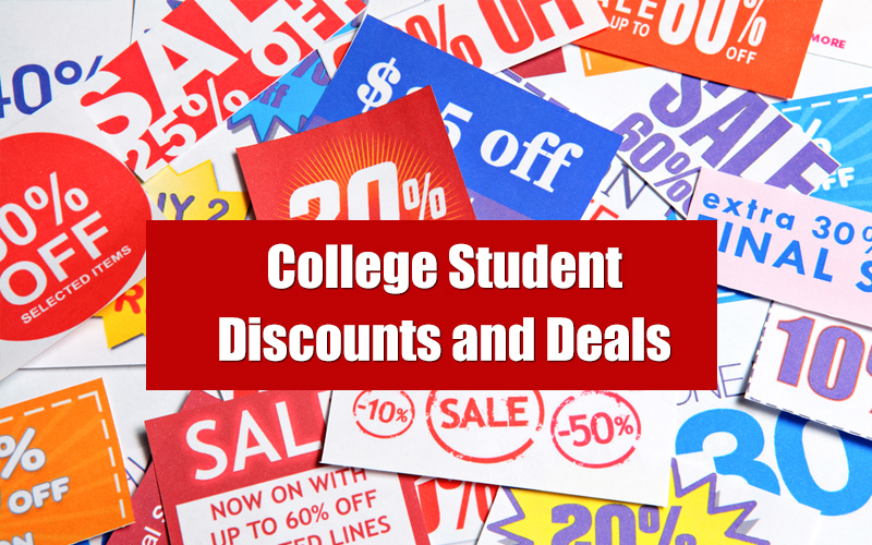College Student Discounts and Deals