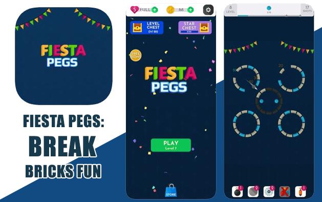 FIESTA PEGS: BREAK BRICKS FUN