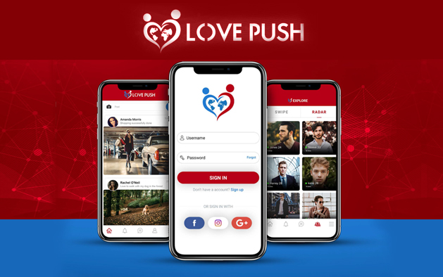 LOVE PUSH – To enlarge the Love Push community and get rewarded!