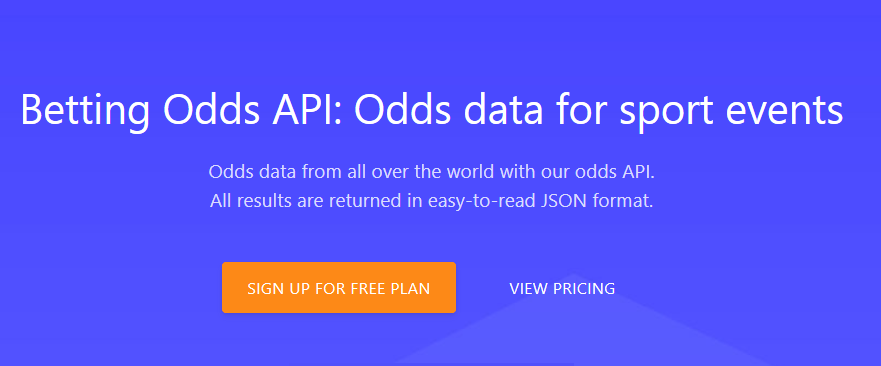 Odds API – The Ultimate API To Pull In Sports Data