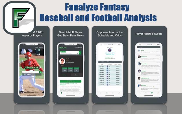 Fanalyze Fantasy Baseball and Football Analysis