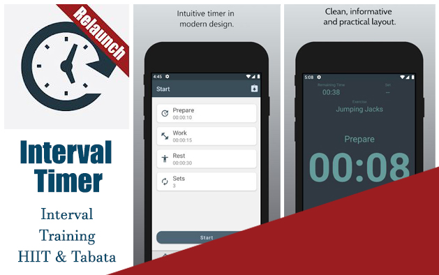 Interval Timer – Interval Training HIIT & Tabata
