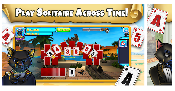 Solitaire has a new lease of life with this exciting game.