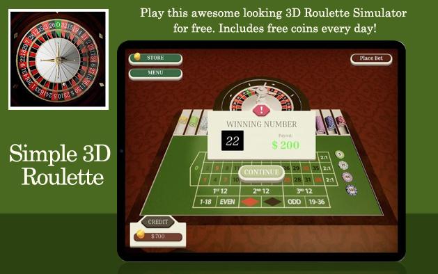 Simple 3D Roulette