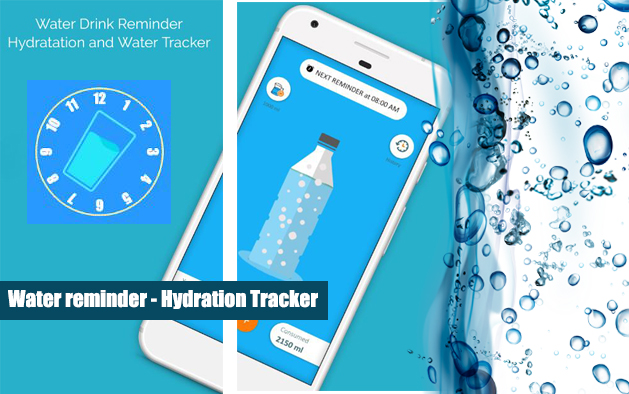 Water reminder – Hydration tracker