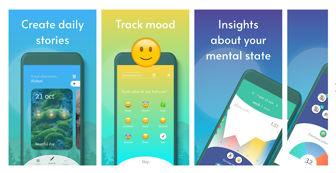 Get Rid of Your Anxiety with Daily Journal App & Guided Diary