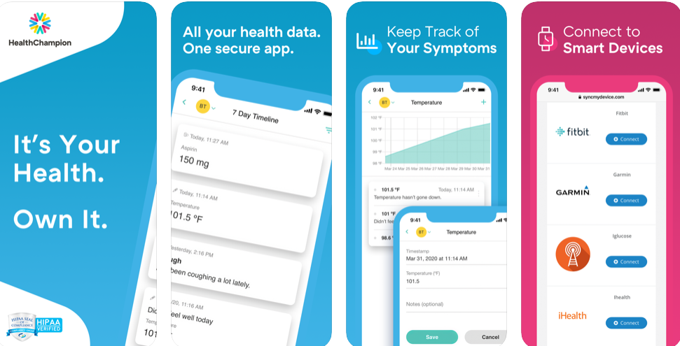 HealthChampion is the all-in-one medical records app
