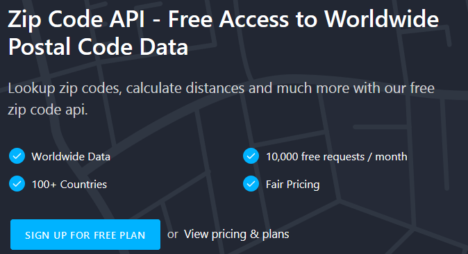 Zipcodebase – Get Access to Postal Code Data All Over the Globe