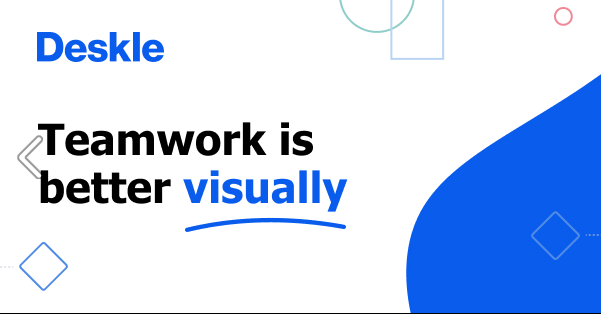 DESKLE- COLLABORATE WITH YOUR TEAM MEMBERS VISUALLY!